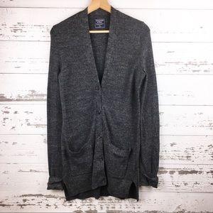 ABERCROMBIE & FITCH Cozy Knit Cardigan Sweater